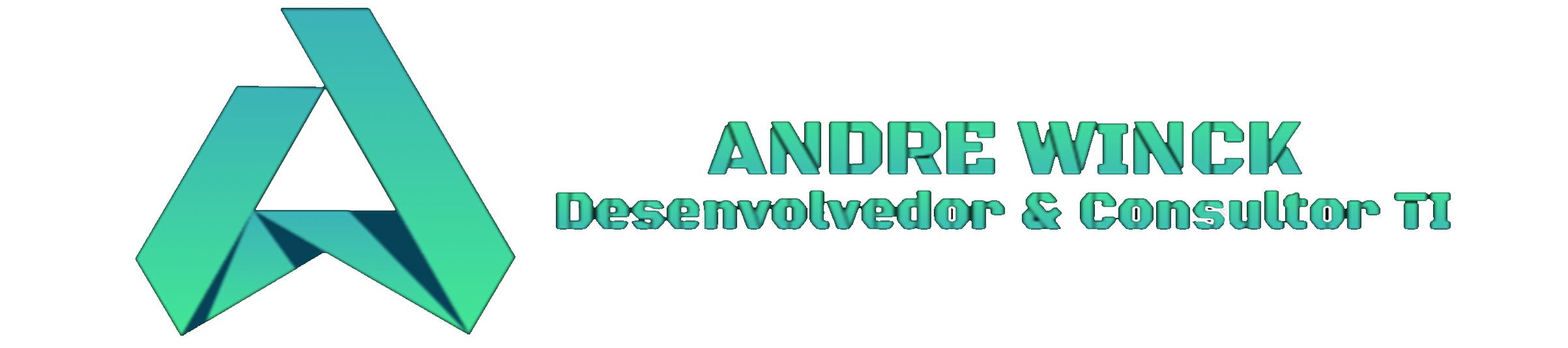 Andre Winck logo marca capa 1